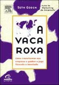 Livro - A Vaca Roxa